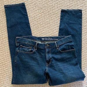 Gap skinny jeans 38